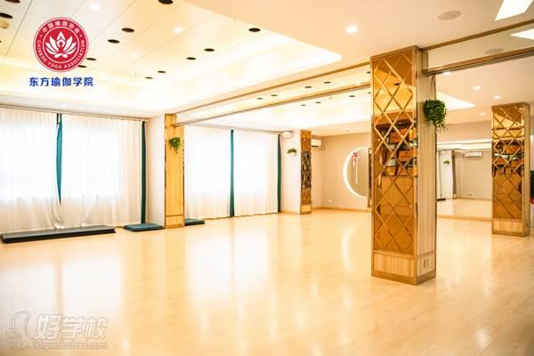 广州东方瑜伽学院 上课环境