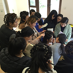 苏州新娘造型中级培训班课程