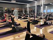 上海無陌瑜伽中心的日常教学