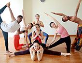 無陌瑜伽中心学员的风采展示