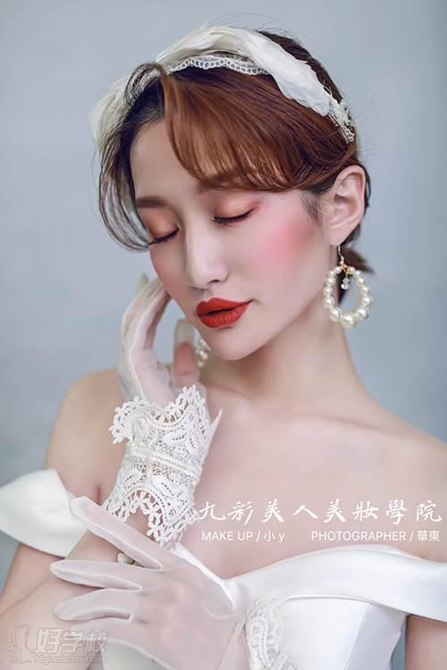 九彩美人化妝學校 學員作品