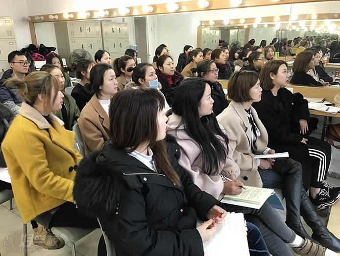 杭州鑫乐彩美学中心  教学现场
