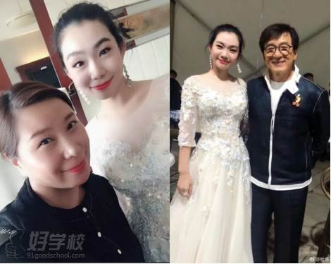 成龙影片节陆薇薇老师受邀为演员杜鹃化妆造型