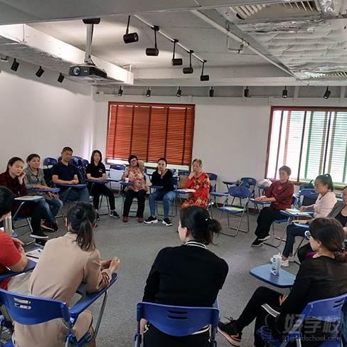 深圳心理咨询师资格认证培训班  教学现场
