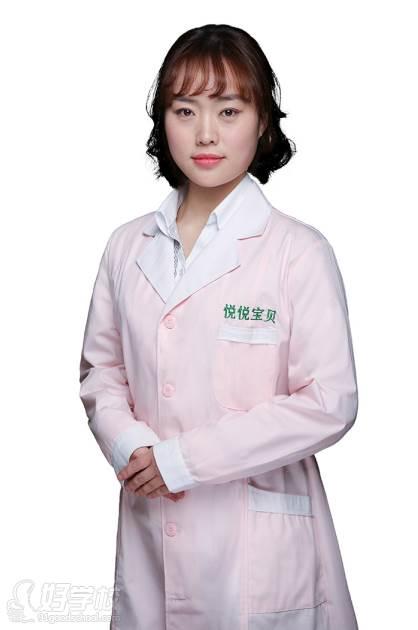 武汉悦悦宝贝推拿健康咨询服务培训中心  导师 刘骄颖