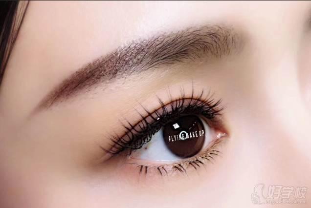北京弗萊茵化妝培訓學校  半永久紋繡課程 紋眉作品
