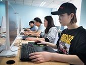 亿玛客学院的日常教学现场