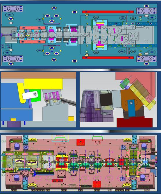 UG全3D汽车连续模具结构设计培训课程
