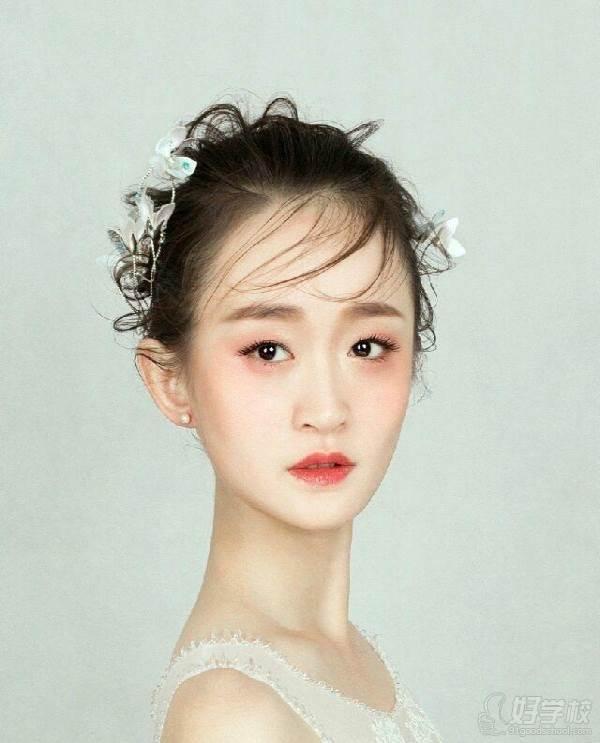 深圳一对一生活妆培训课程 作品展示
