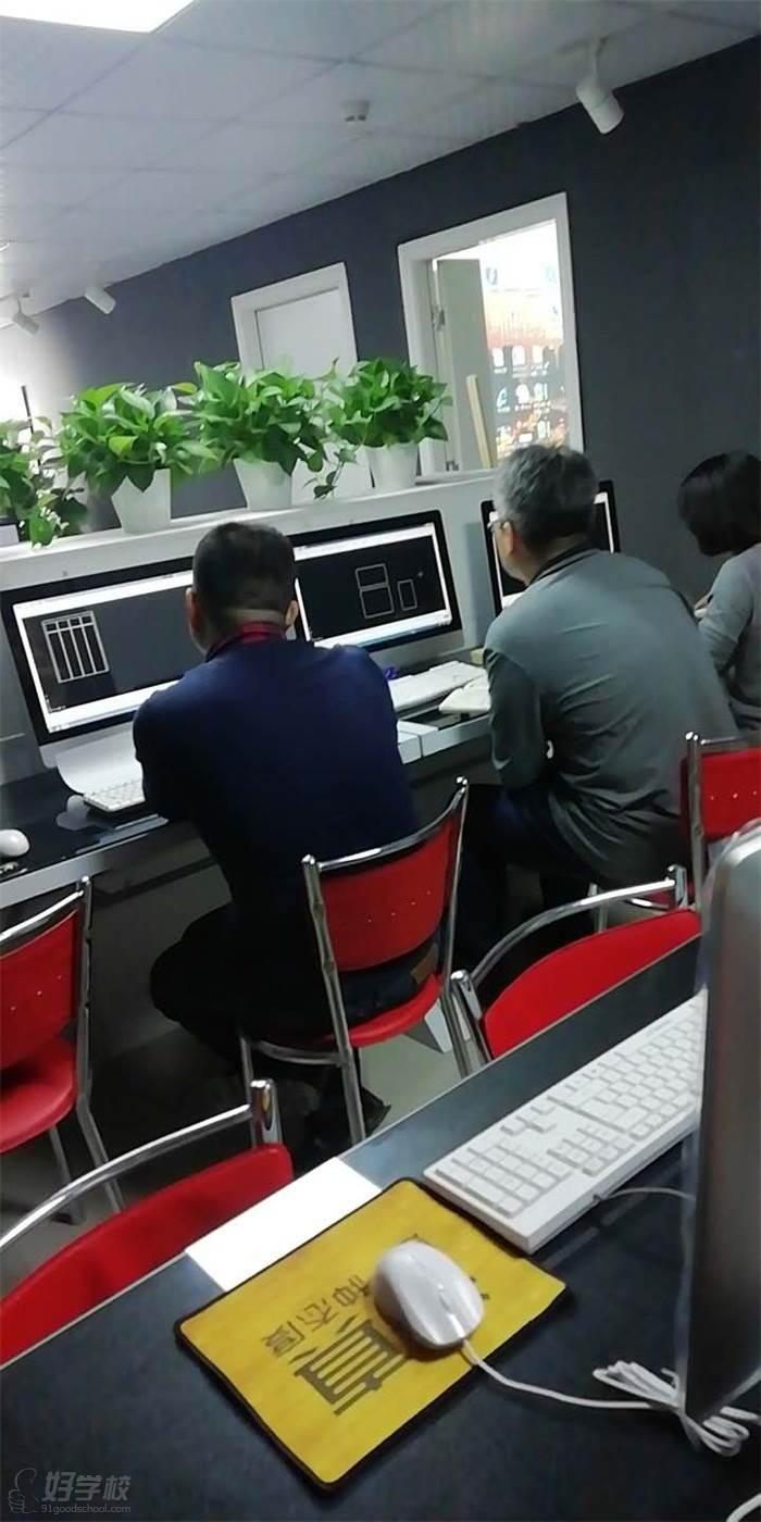 东莞一品设计培训中心 教学现场