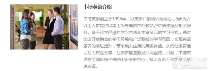 深圳韦博英语培训中心 学校简介