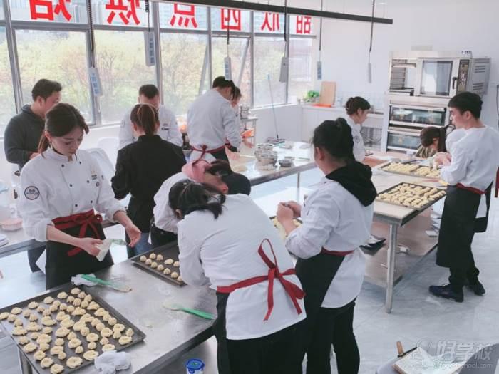 苏州甜欣西点烘焙学院 教学现场