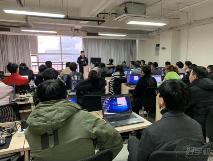 四川源碼時代編程培訓中心教學現場