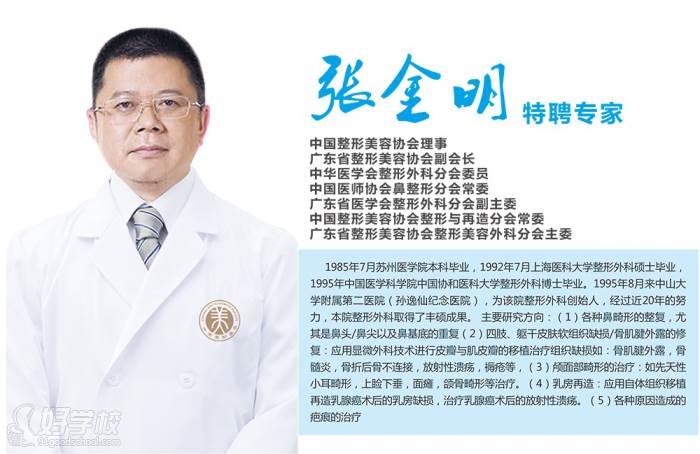 张金明 特聘专家
