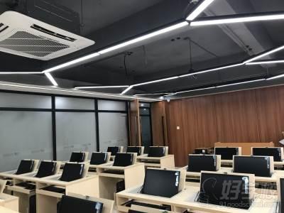 广州文宣职业培训学校 电脑室