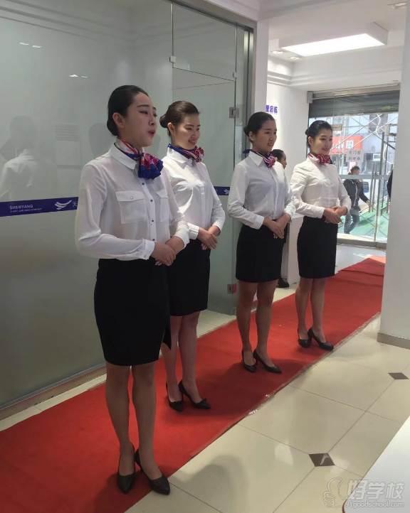 沈阳天翼航空空乘培训学校  专业训练