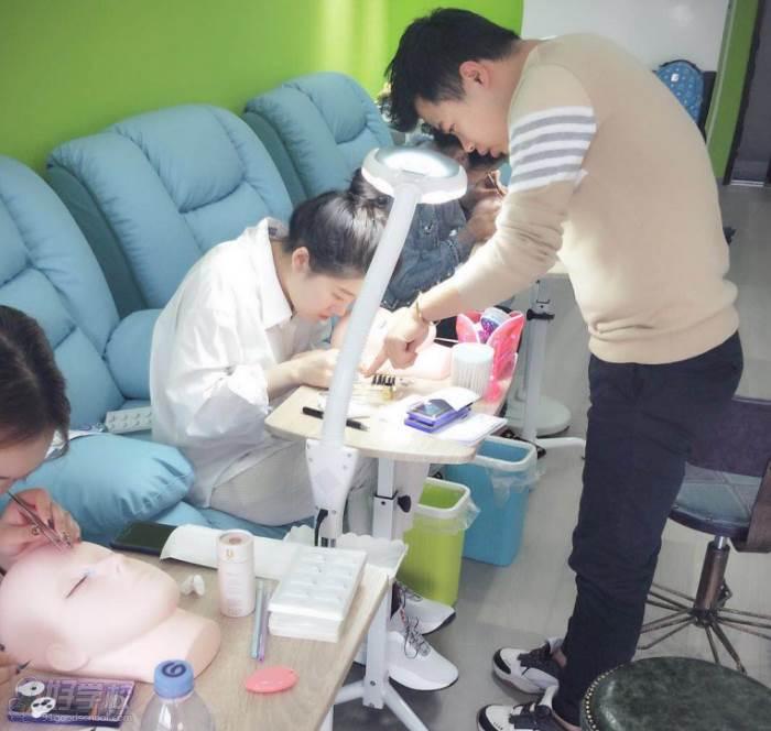 北京叁禾研社日式美甲美睫培训学院 学员风采