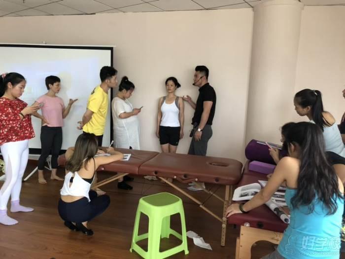 上海江龙健康管理培训中心  教学现场