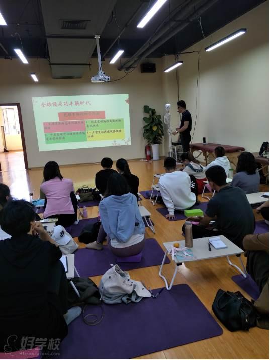 上海江龙健康管理培训中心  课程现场