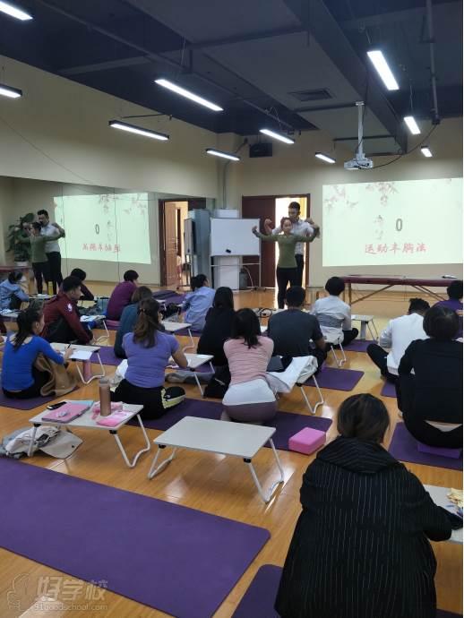 上海江龙健康管理培训中心  教学示范