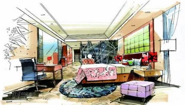 广州量宅定制设计教育  手绘课程