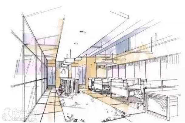 广州量宅定制设计教育  空间上色