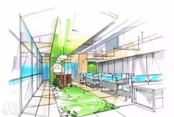 广州量宅定制设计教育  空间整体色调