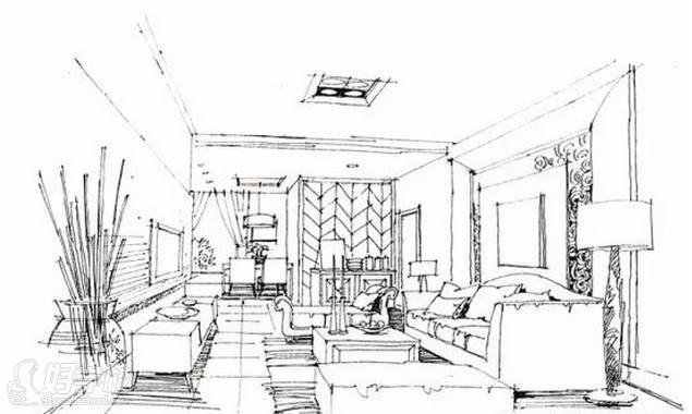 广州量宅定制设计教育  手绘空间