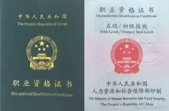广州依佳族家政服务培训中心  职业证书