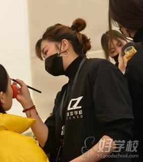成妆学员实践