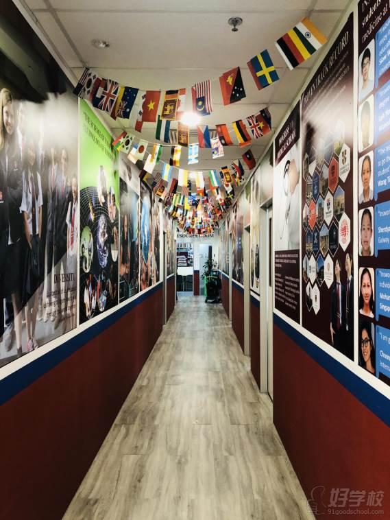 新加坡英仕学院  走廊环境