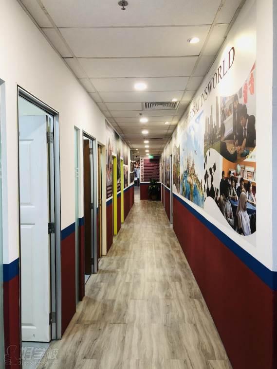 新加坡英仕学院  教学走廊