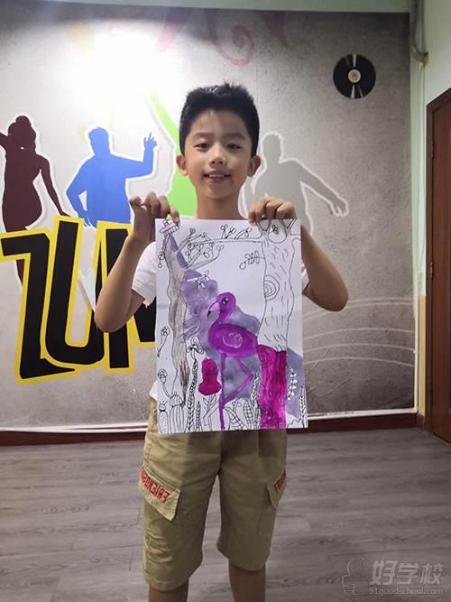 廣州揚岸舞蹈工作室 美術作品