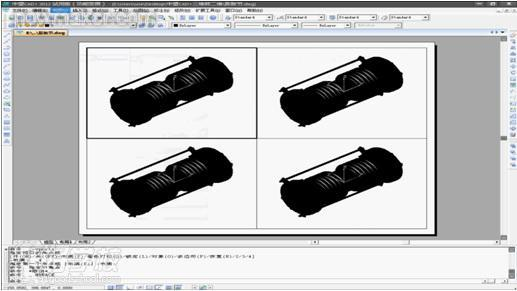 厚德培训教你CAD三维实体转二维线框cad作图网图片