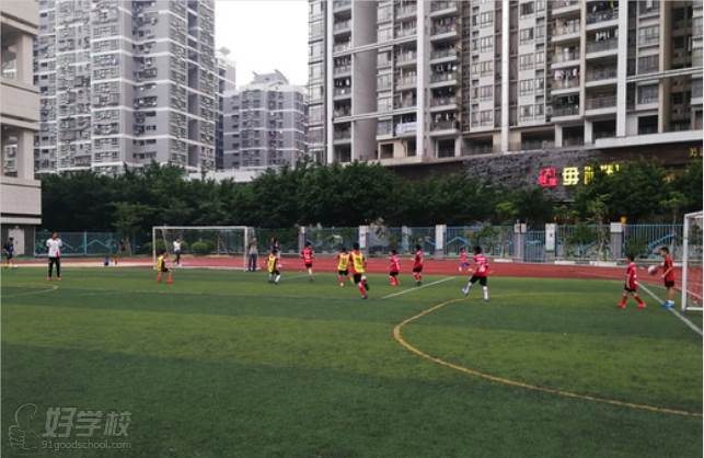 麦菲足球学院  广州猎德校区