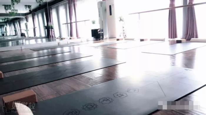 合肥自在鱼yoga瑜伽馆  一馆环境