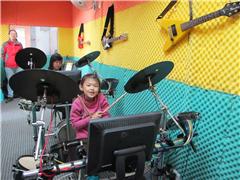 广州幼儿爵士鼓趣味启蒙课程