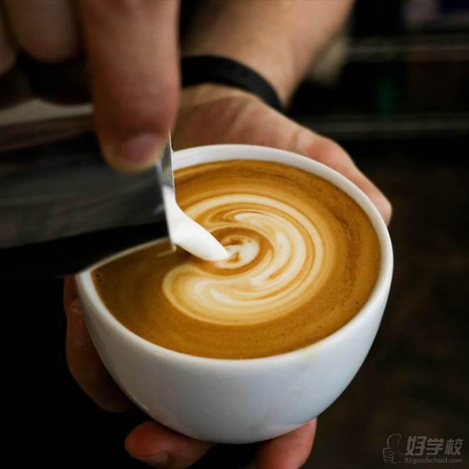 深圳逸棧烘焙西點培訓學校  學員作品-咖啡