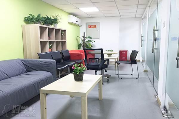 成都朴新教育 教学环境-休息区