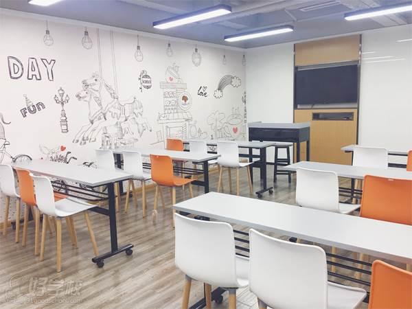 杭州濟才教育 課室展示