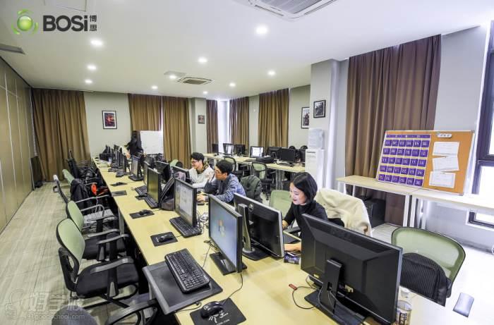 上海博思游戏学校  教学现场