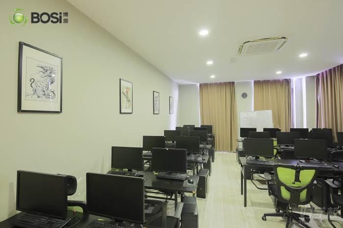 上海博思游戏学校   教学课室