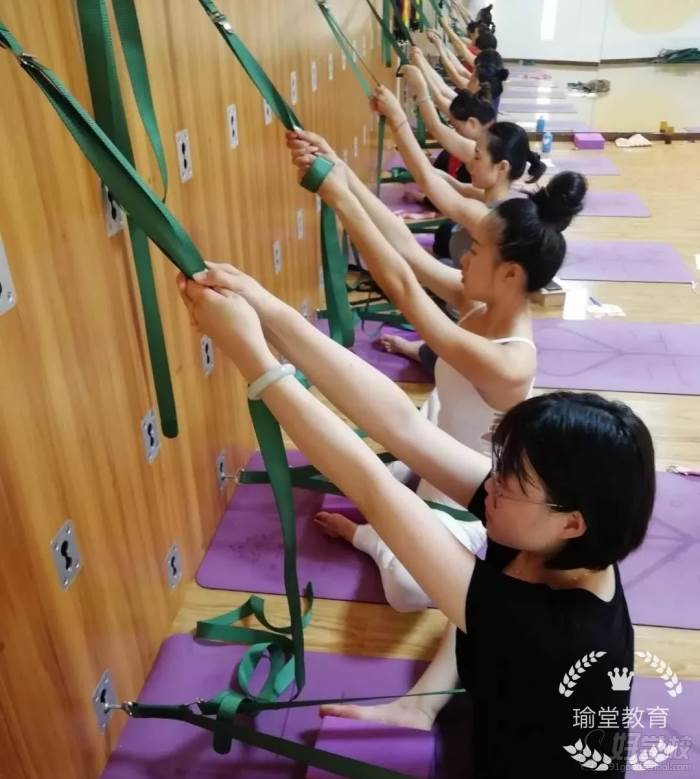 西安瑜堂教育私教培训学院教学现场