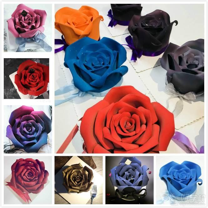 法式巧克力玫瑰