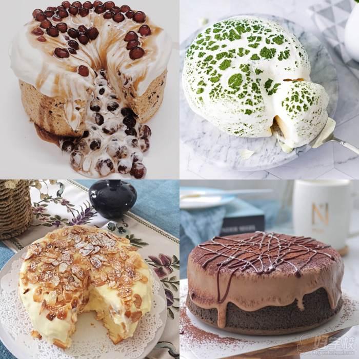 四款爆浆蛋糕