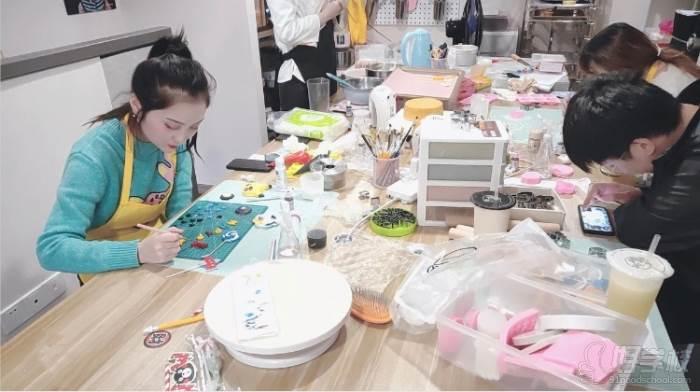 南京愛寵愛·高端寵物烘焙教室  教學現場