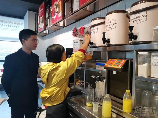 深圳贝勒海餐饮培训学校 实操现场