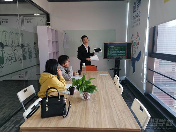 深圳贝勒海餐饮培训学校 理论现场