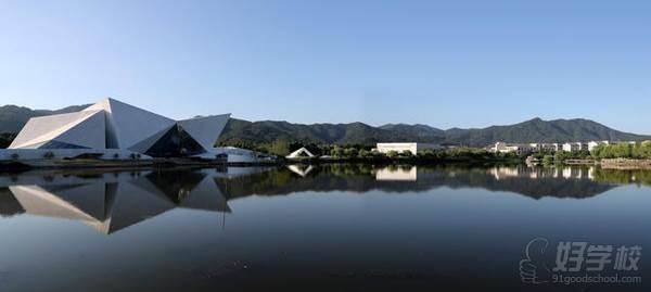 浙江科技大学 校园湖畔