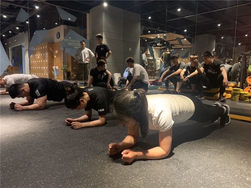 合肥有氧团操健身教练培训课程